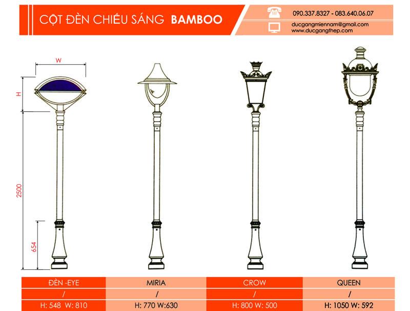 trụ đèn bamboo (2)